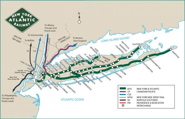 NYA  New York  Atlantic Railway  Anacostia Rail Holdings